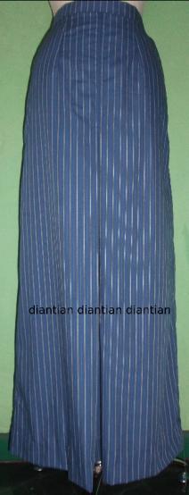 bahan roknya sama persis dengan bahan blouse praktek pertama
